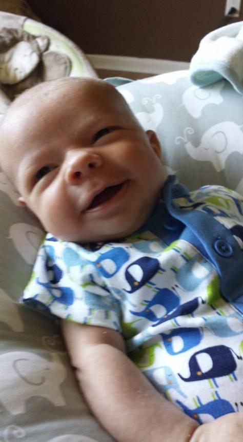 Miles smiling